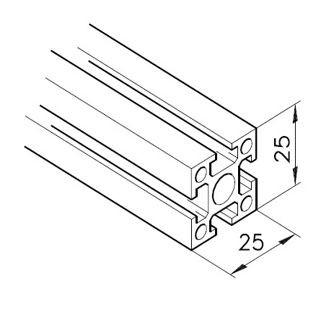 Profil mK-2025.01, L=5100mm