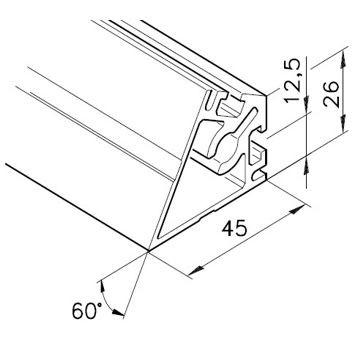 Profil mK-2025.16, L=5100mm