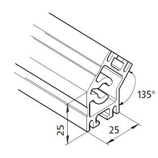 Profil mK-2025.18, L=5100mm