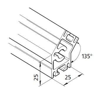 Profil mK-2025.18, L=x?x mm