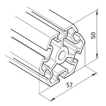 Profil mK-2025.20, L=5100mm