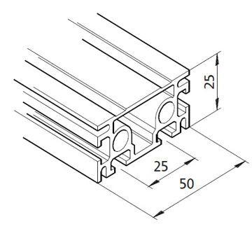 Profil mK-2025.32, L=5100mm