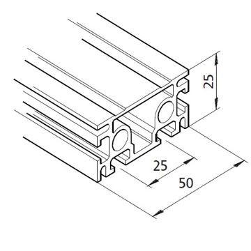 Profil mK-2025.32, L=x?x mm