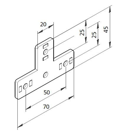 Bausatz T-Platte 01