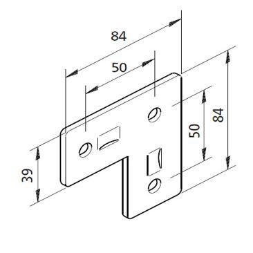Bausatz Winkelplatte 03