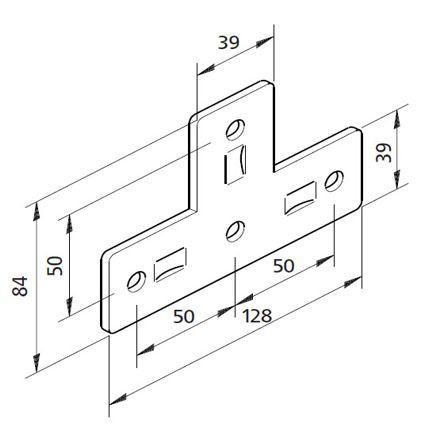Bausatz T- Platte 03