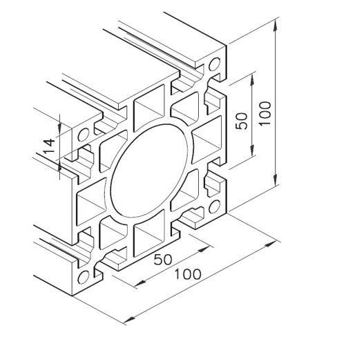 Profil mK-2011, L=5100mm
