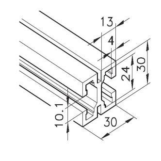 Profil mK-2030, L=x?x mm