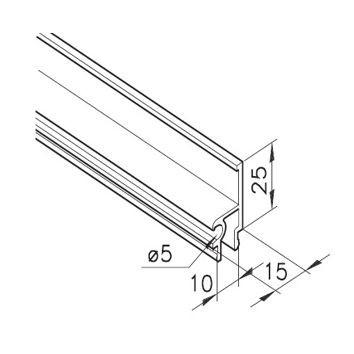Profil mK-2220, L=6100mm