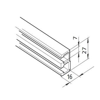 Profil mK-2240, L=5100mm