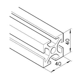 Profil mK-2040.01, L=5100mm