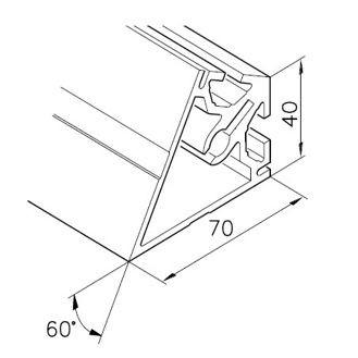 Profil mK-2040.17, L=5100mm