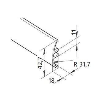 Profil mK-2040.43, L=x?x mm