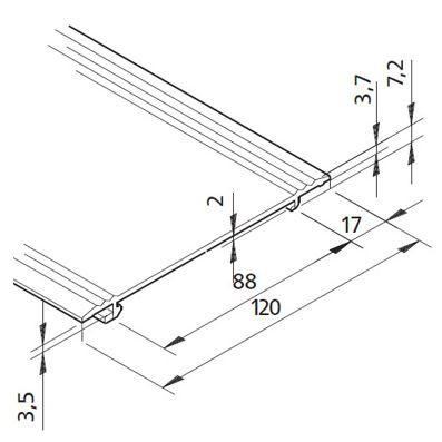 Profil mK-2040.85, L=5100 mm