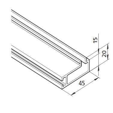 Profil mK-2040.88, L=5100mm