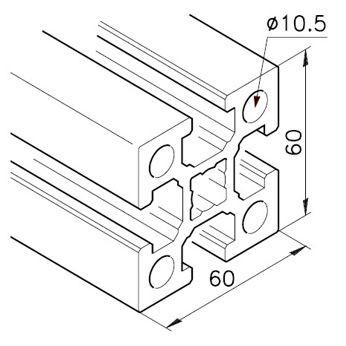 Profil mK-2060.01, L=x?x mm