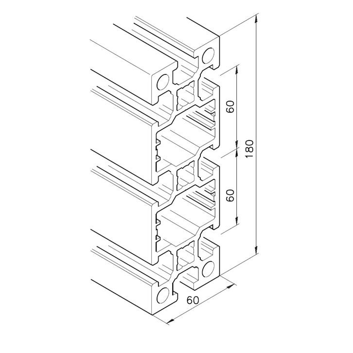 Profil mK-2060.03, L=5100mm