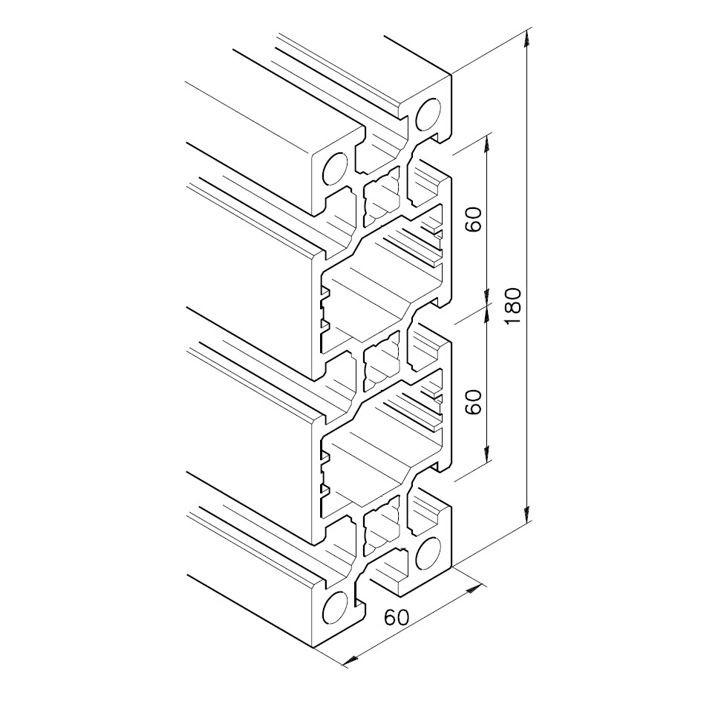 Profil mK-2060.03, L=x?x mm