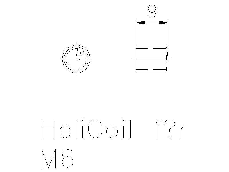 Helicoil M6
