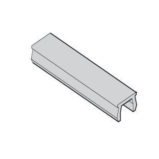 Verschlussprofil mK-3019, silbergrau