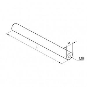 Achse Ø12, L=250mm