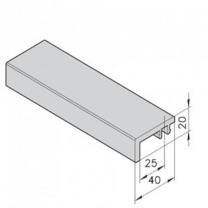 Gleitleiste mK-1008