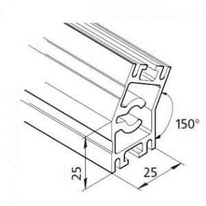 Profil mK-2025.19, L=5100mm