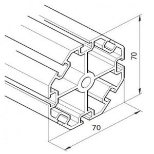 Profil mK-2025.21, L=5100mm