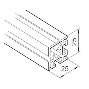 Profil mK-2025.35, L=5100mm