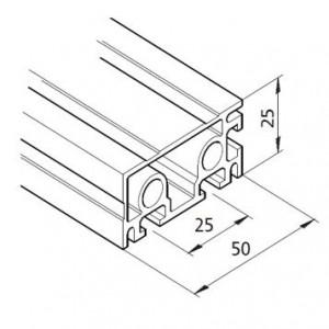 Profil mK-2025.36, L=5100mm