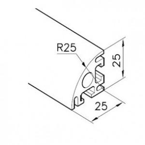 Profil mK-2025.37, L=x?x mm