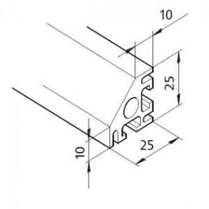Profil mK-2025.38, L=x?x mm