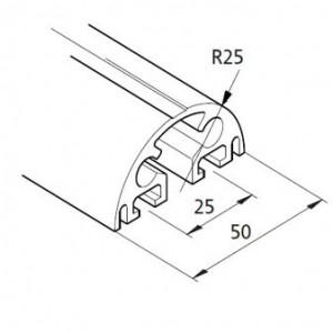 Profil mK-2025.39, L=5100mm