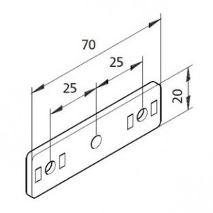 Bausatz Gerade Platte 02