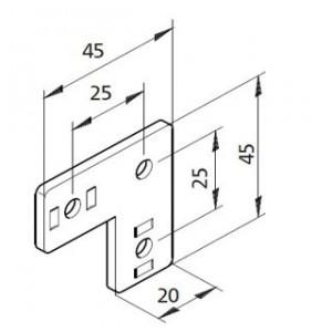 Bausatz Winkelplatte 01
