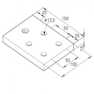 Fußplatte G M20