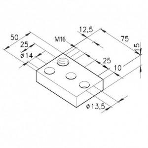 Fußplatte F M16