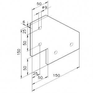 Knotenplatte 11