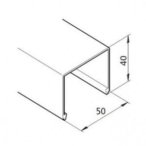 Profil mK-2051, L=5100mm