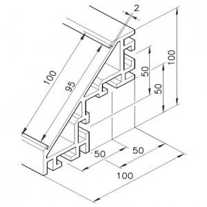 Profil mK-2072, L=x?x mm