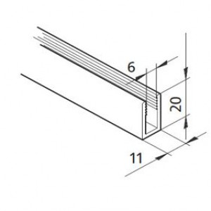 Profil mK-2207, L=x?x mm