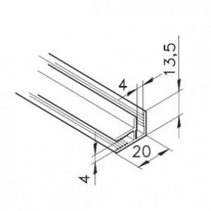 Profil mK-2210, L=x?x mm