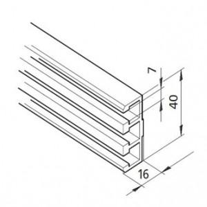 Profil mK-2241, L=5100mm