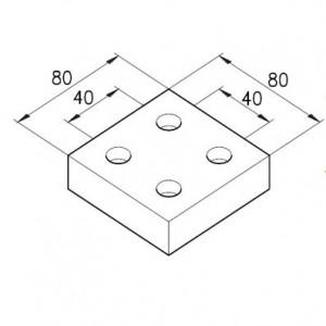 Verschlussplatte B