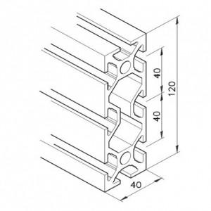 Profil mK-2040.05, L=5100mm