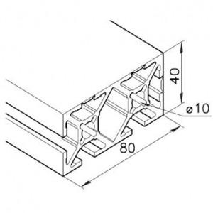 Profil mK-2040.101, L=5100mm