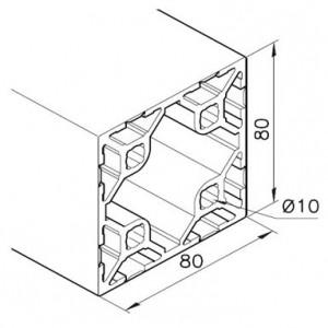 Profil mK-2040.109, L=5100mm