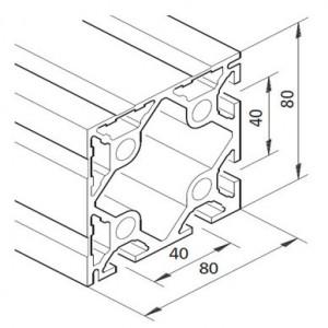 Profil mK-2040.13, L=x?x mm