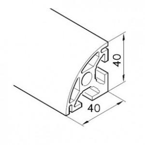 Profil mK-2040.15, L=5100mm