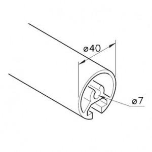Profil mK-2040.16, L=5100mm